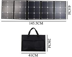 Durable  Folding Solar Panel 16*11*1.2 Inch Water Resistant Stable Performance