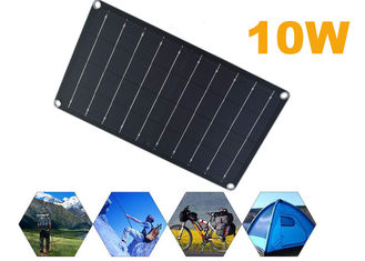 10W 24% Efficient Foldable Portable Solar Panels For Car